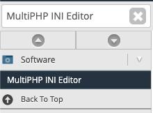 MultiPHP INI Editor