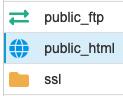 public_html bestandsbeheer