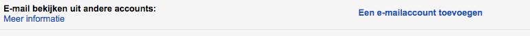 Klik op Een e-mailaccount toevoegen