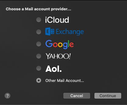 Drugi račun pošte