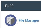 Upravljanje datotekama cPanel
